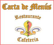 carta de menu00fas